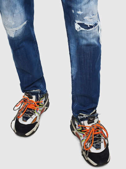 Diesel - Narrot JoggJeans 0099S, Dark Blue - Jeans - Image 4