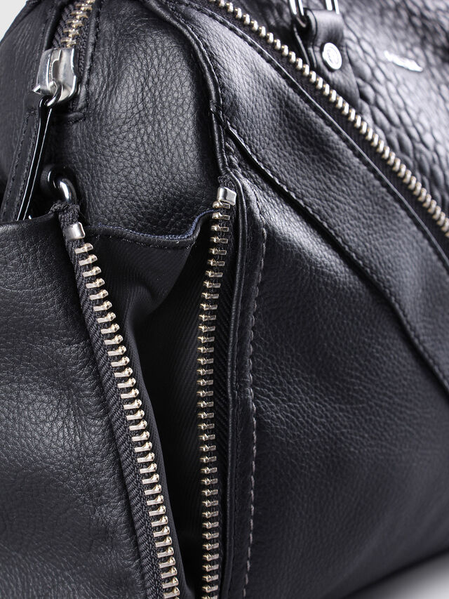 Diesel LE-TRASY, Black Leather - Satchels and Handbags - Image 4