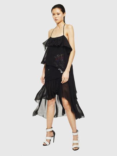 Diesel - D-FREY, Black - Dresses - Image 1