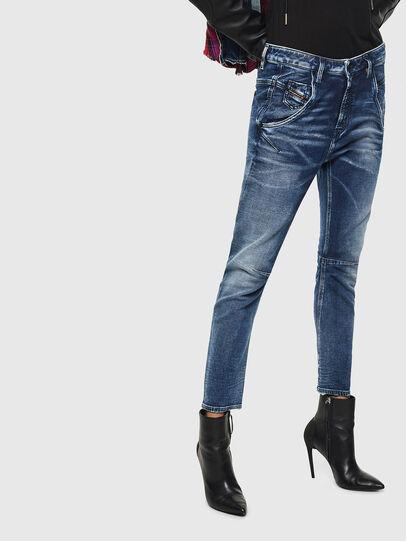 Diesel - Fayza JoggJeans 0096M, Dark Blue - Jeans - Image 1