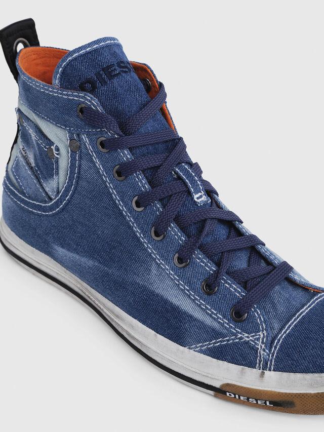 Diesel - EXPOSURE I, Blue Jeans - Sneakers - Image 4
