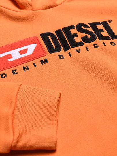 Diesel - SDIVISION OVER, Orange - Sweaters - Image 3