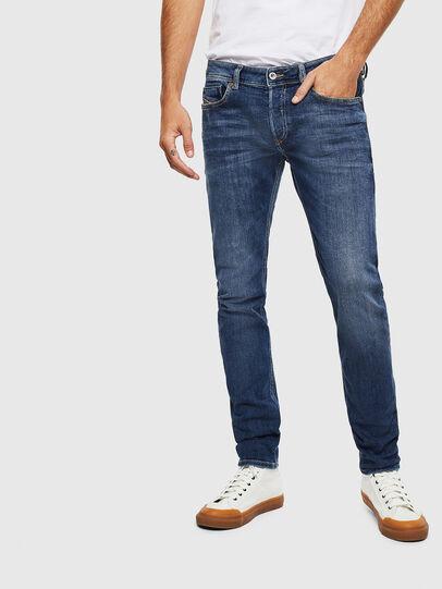Diesel - Sleenker 0095F, Dark Blue - Jeans - Image 1