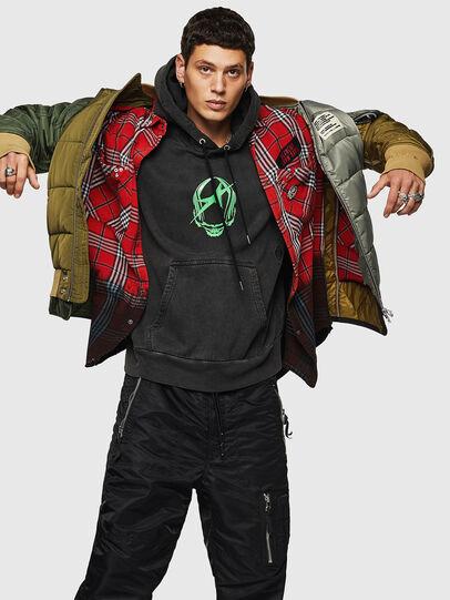 Diesel - W-KOSLOV, Military Green - Winter Jackets - Image 4
