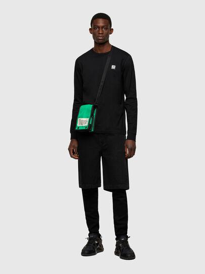 Diesel - ANKO WP, Green/Blue - Crossbody Bags - Image 6