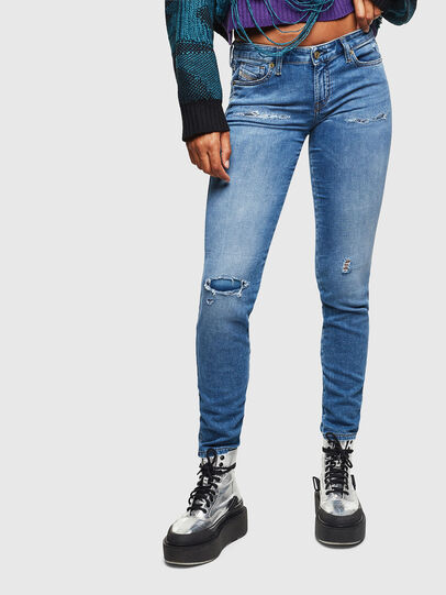 Diesel - Gracey JoggJeans 069IH, Light Blue - Jeans - Image 1