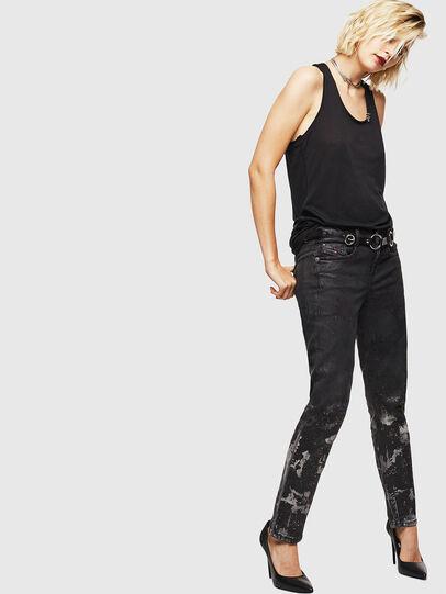 Diesel - D-Ollies JoggJeans 084AZ, Black/Dark grey - Jeans - Image 6