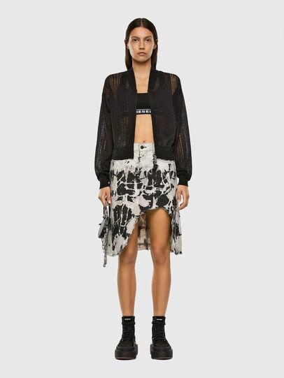 Diesel - M-ZELDA, Black - Knitwear - Image 5
