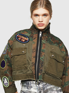 G-ANAPAY, Military Green - Jackets