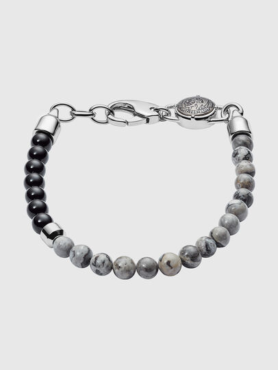 Diesel - DX1061, Grey - Bracelets - Image 1