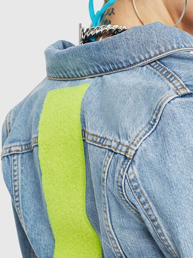Diesel - DE-ZAUPY-C, Blue Jeans - Denim Jackets - Image 4