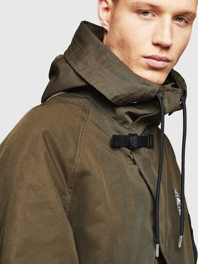Diesel - W-KOBEC, Military Green - Winter Jackets - Image 6