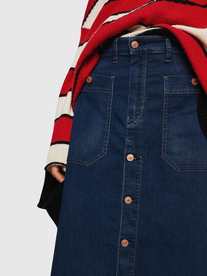 Diesel - D-RHITA JOGGJEANS, Medium blue - Skirts - Image 3