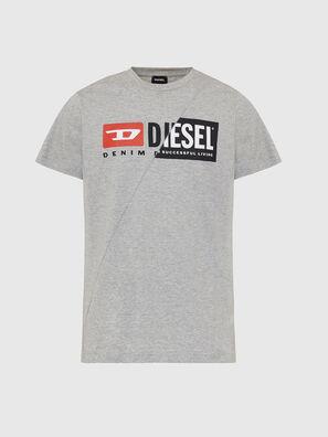 T-DIEGO-CUTY, Light Grey - T-Shirts