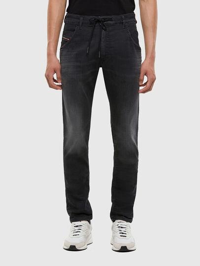 Diesel - KROOLEY JoggJeans® 009KD, Black/Dark grey - Jeans - Image 1