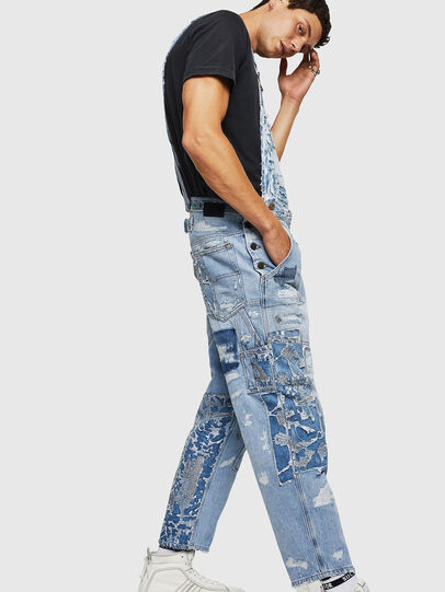 Diesel - D-HARU-SY, Blue Jeans - Jumpsuits - Image 7