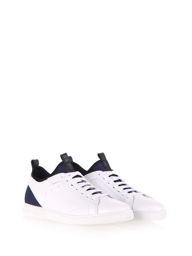Diesel - S18ZERO, White - Sneakers - Image 2