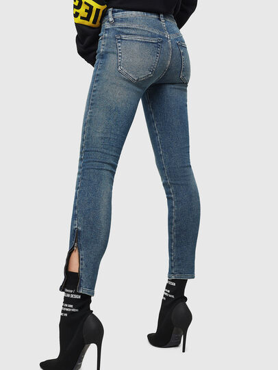 Diesel - Slandy Zip 083AL, Medium blue - Jeans - Image 2