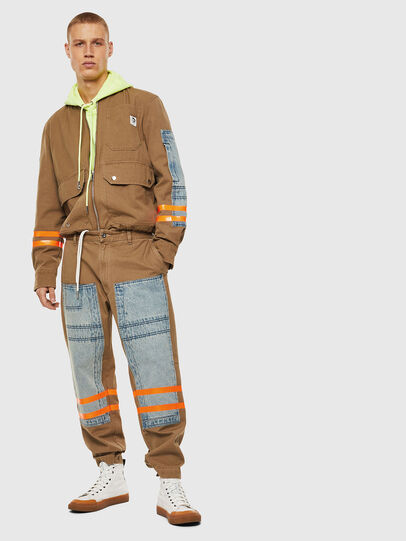 Diesel - P-CARUSO, Light Brown - Pants - Image 7