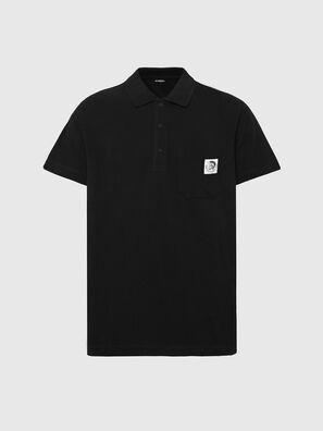 T-POLO-WORKY, Black - Polos