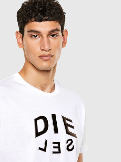 Diesel - T-DIEGOS-A1, White - T-Shirts - Image 3
