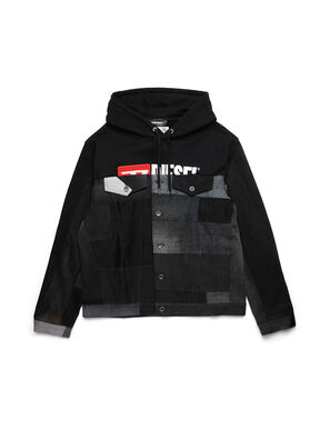 D-BNHILL55, Black - Denim Jackets