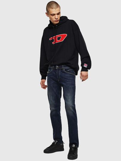 Diesel - Belther 0814W, Dark Blue - Jeans - Image 6