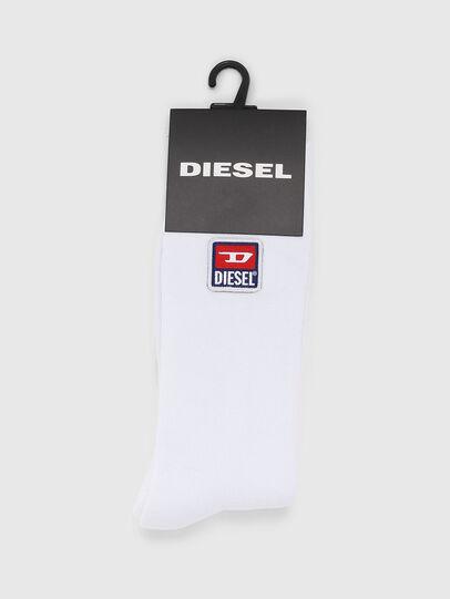 Diesel - SKM-RAY, White - Socks - Image 2