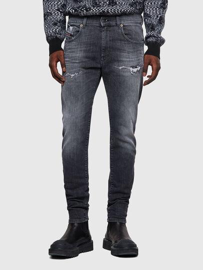 Diesel - D-Strukt JoggJeans® 009QT, Black/Dark grey - Jeans - Image 1