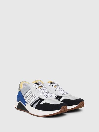 Diesel - S-BRENTHA FLOW, Grey/Blue - Sneakers - Image 2