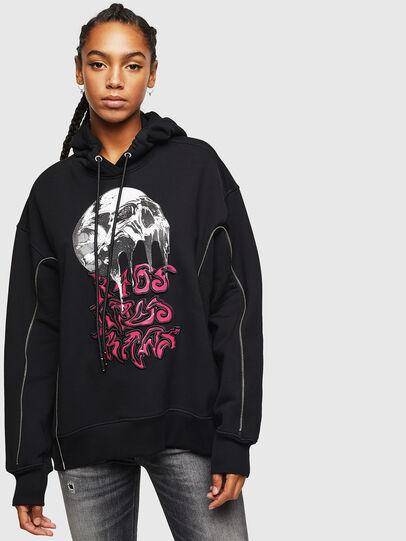 Diesel - F-LUDO, Black - Sweaters - Image 1