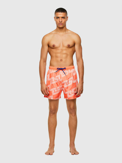 Diesel - BMBX-WAVE 2.017, Orange - Swim shorts - Image 1