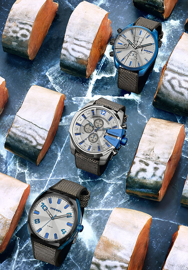 Blue Tech Watches