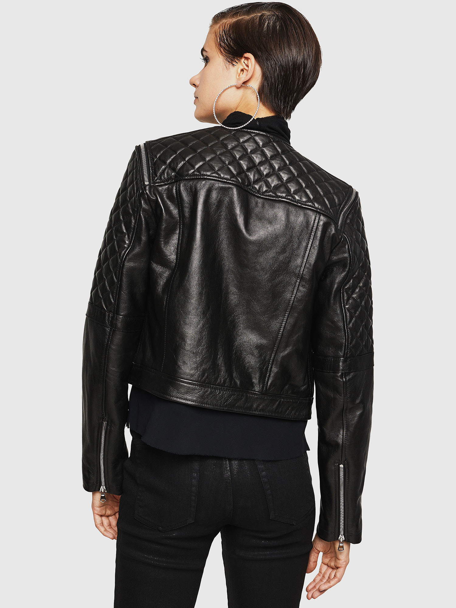 Diesel - LIVIA,  - Leather jackets - Image 2