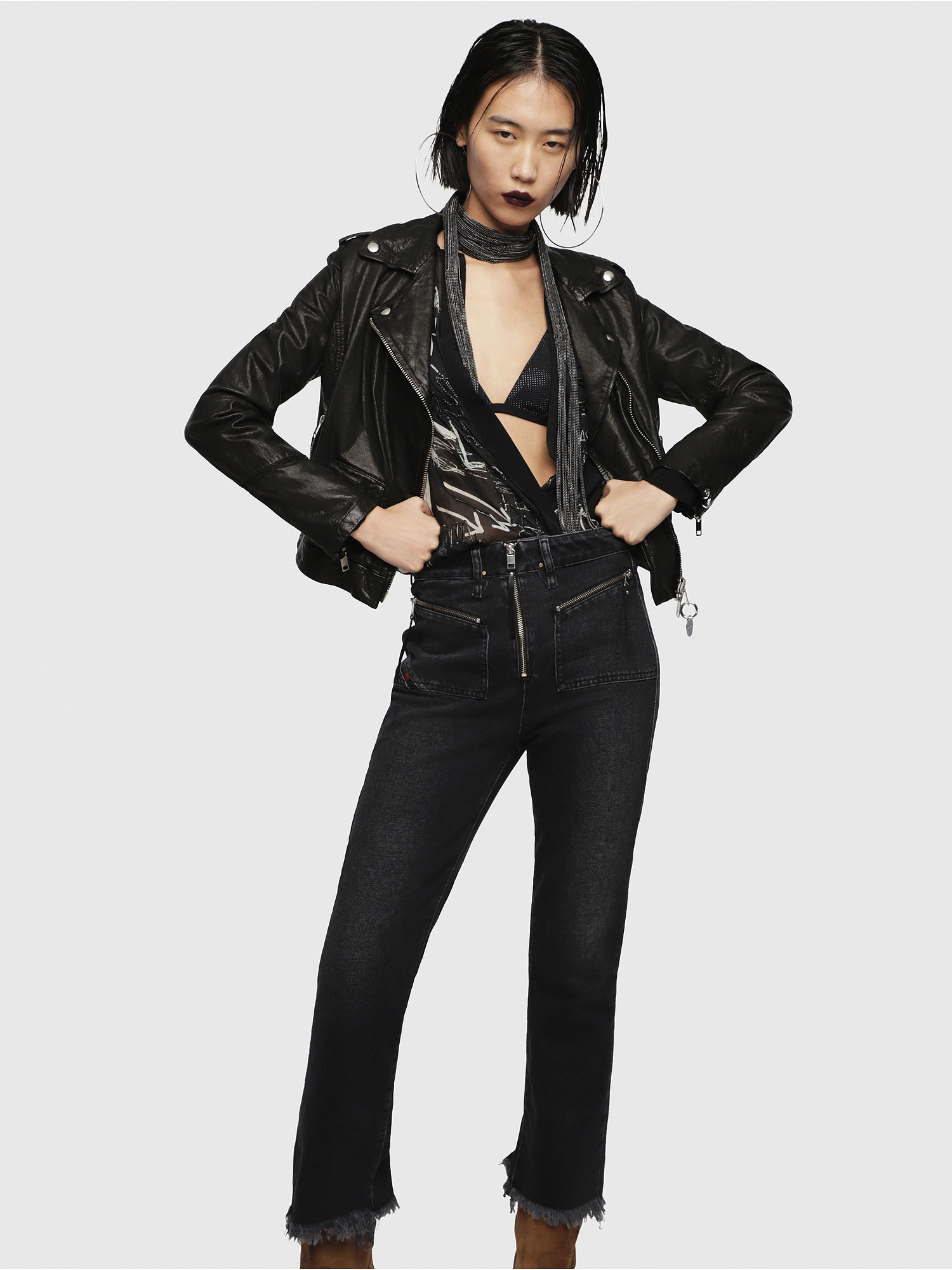 Diesel - L-SERY,  - Leather jackets - Image 5