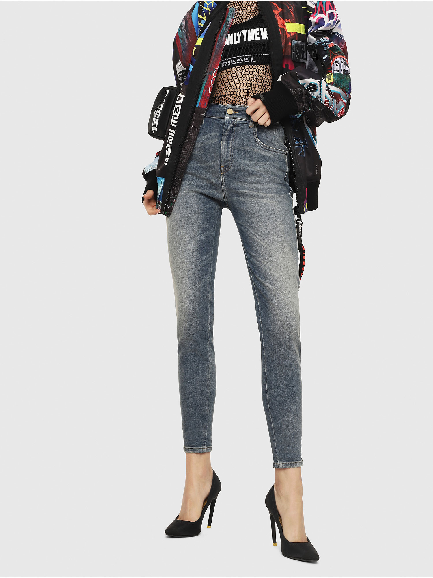 Diesel - Slandy High 085AZ,  - Jeans - Image 1