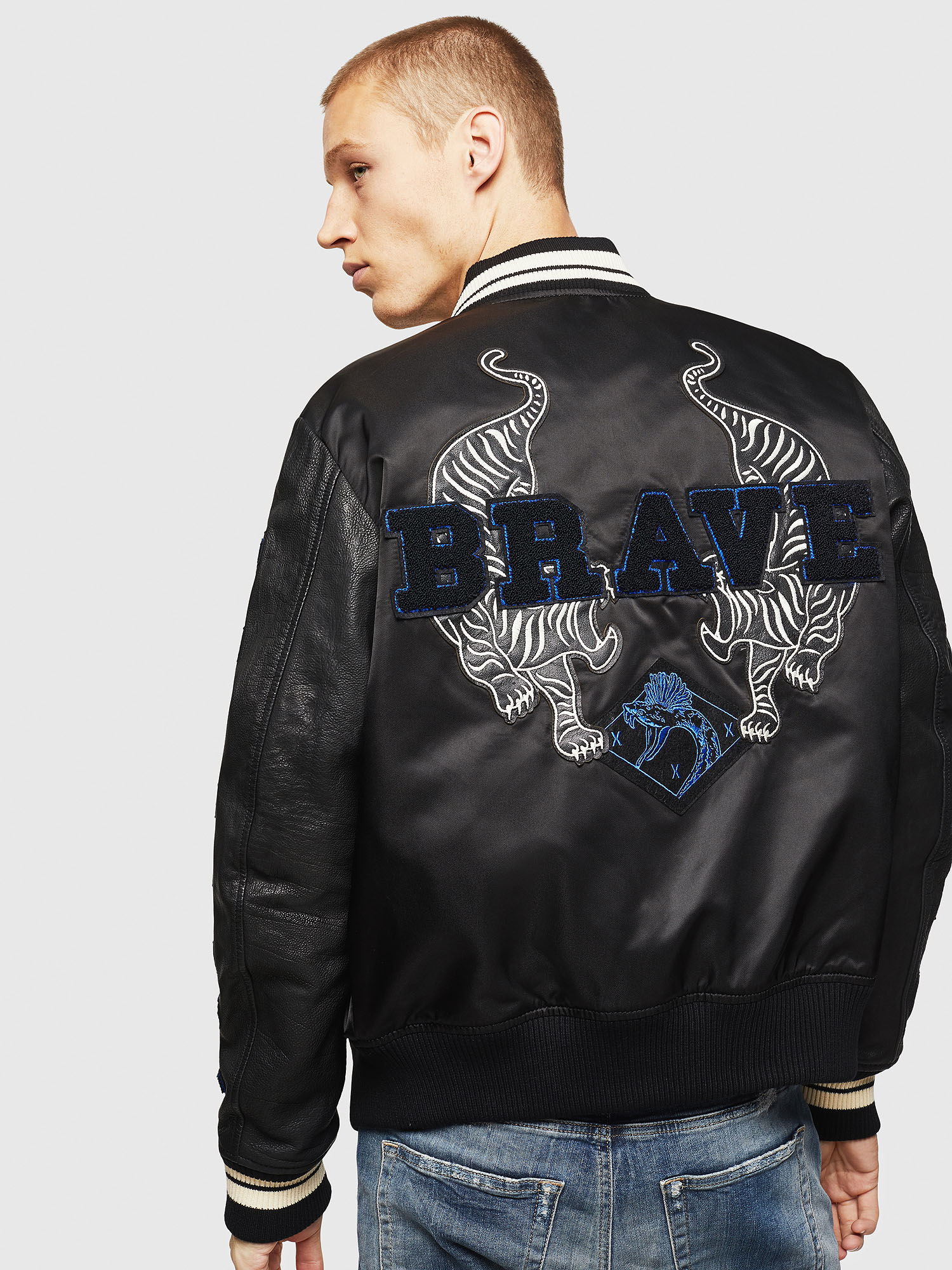 Diesel - L-KHARKOV,  - Leather jackets - Image 2