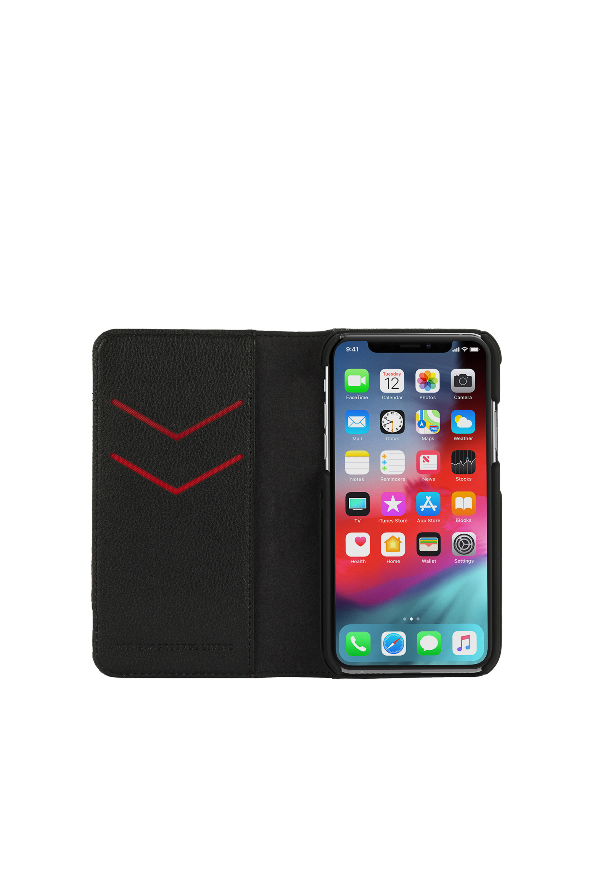 Diesel - DIESEL 2-IN-1 FOLIO CASE FOR IPHONE XS & IPHONE X,  - Flip covers - Image 6